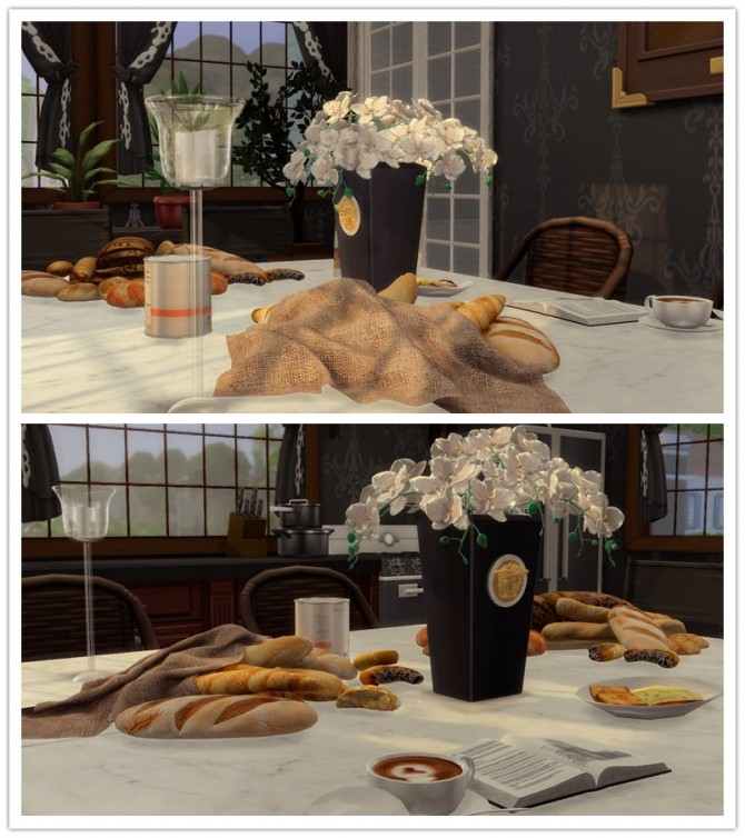 Bread And Table (P) at Viviansims Studio image 3421 670x754 Sims 4 Updates