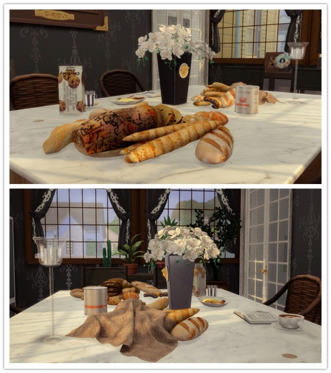 Bread And Table (P) at Viviansims Studio image 3431 670x754 Sims 4 Updates