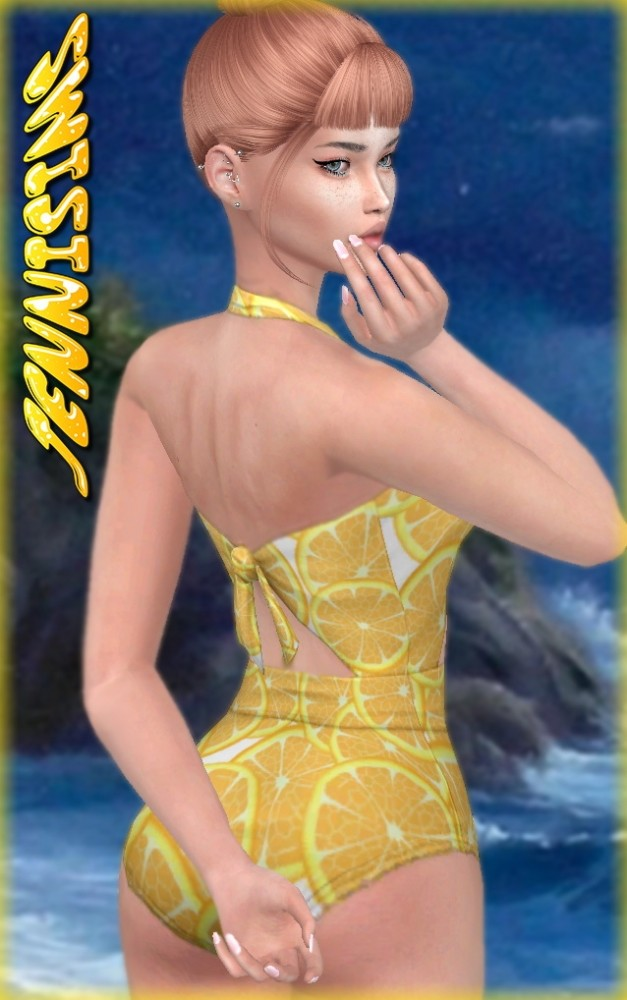 Sims 4 Swimsuit Better In The Beach at Jenni Sims