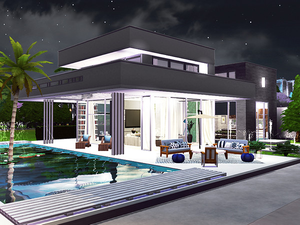 Conway contemporary house by Rirann at TSR image 35 Sims 4 Updates