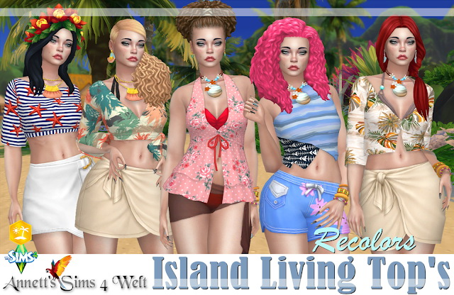 Try These Sims 4 Island Living Cc Recolors {Mahindra Racing}