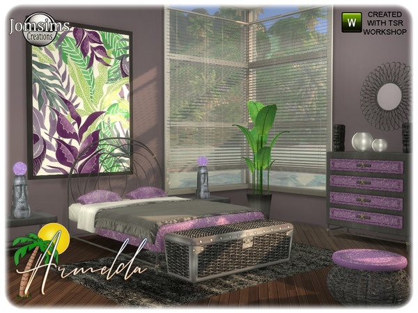 Armelda bedroom by jomsims at TSR image 3519 Sims 4 Updates