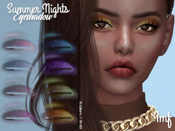 Sims 4 IMF Summer Nights Eyeshadow N.93 by IzzieMcFire at TSR