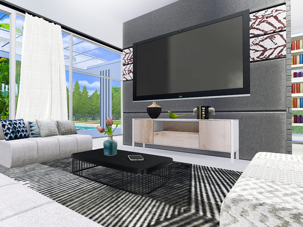 Conway contemporary house by Rirann at TSR image 36 Sims 4 Updates