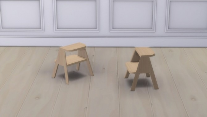 BUTLER STOOL at Meinkatz Creations image 3613 670x377 Sims 4 Updates