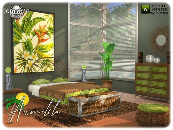 Armelda bedroom by jomsims at TSR image 3617 Sims 4 Updates