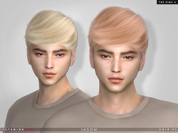 Jason Hair 92 by TsminhSims at TSR image 3623 Sims 4 Updates