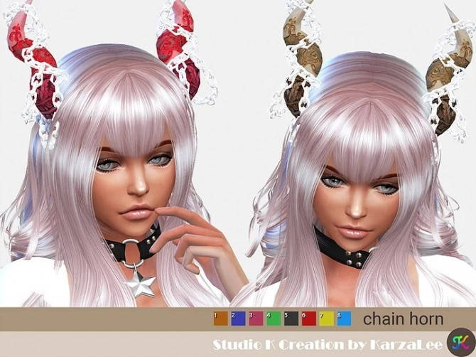 Chain horn at Studio K Creation image 3631 670x502 Sims 4 Updates