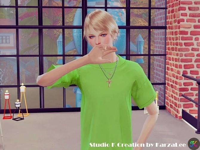 Hair SKC01 Nero at Studio K Creation image 367 670x502 Sims 4 Updates