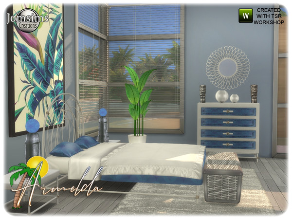 Armelda bedroom by jomsims at TSR image 3714 Sims 4 Updates