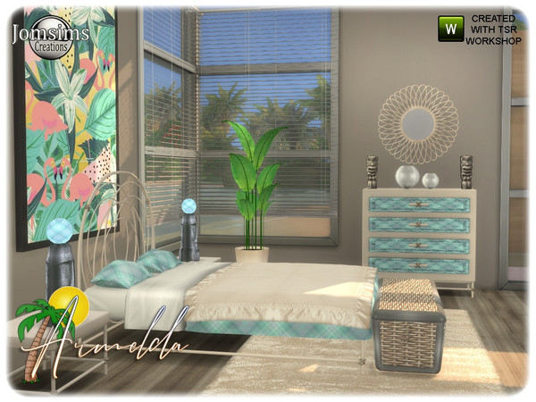 Armelda bedroom by jomsims at TSR image 3811 Sims 4 Updates