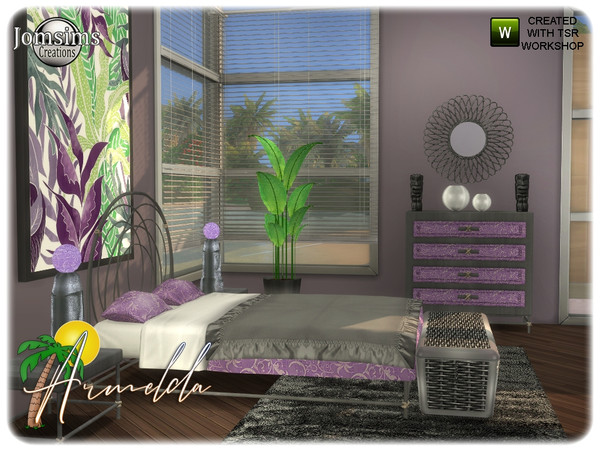 Armelda bedroom by jomsims at TSR image 3910 Sims 4 Updates