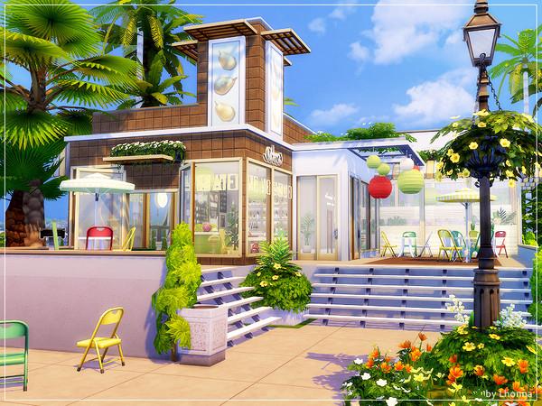 Sims 4 Three Fruits Bar by Lhonna at TSR