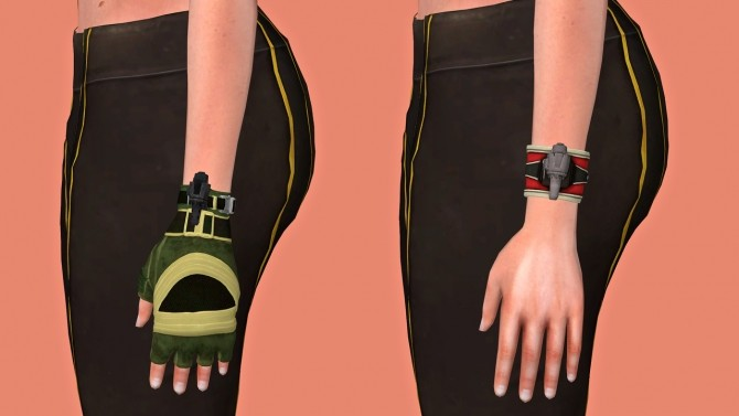 Mortal Combat 11 Sonya Blade Outfits & Accessories Set at Astya96 image 3932 670x377 Sims 4 Updates