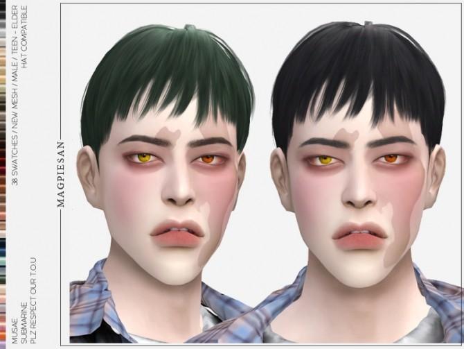 Sims 4 Submarine Hair at EFFIE