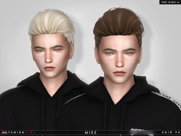 Mike Hair 90 by TsminhSims at TSR image 4112 Sims 4 Updates