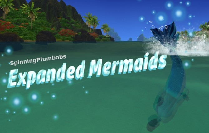 Mermaids Expanded by SpinningPlumbobs at Mod The Sims image 4114 670x427 Sims 4 Updates