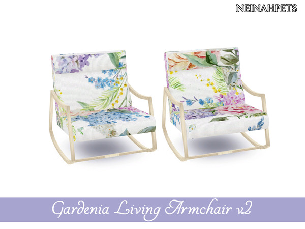 Gardenia Living Collection by neinahpets at TSR image 444 Sims 4 Updates
