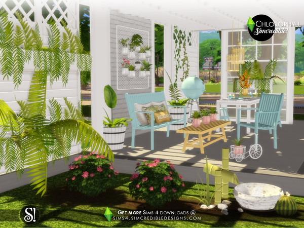 Chlorophyll Plants by SIMcredible at TSR image 4510 Sims 4 Updates