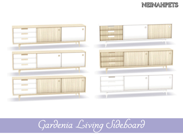 Gardenia Living Collection by neinahpets at TSR image 454 Sims 4 Updates