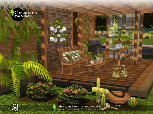 Chlorophyll Plants by SIMcredible at TSR image 4610 Sims 4 Updates