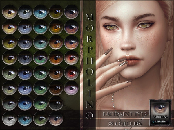 Sims 4 Morpholino Eyes by RemusSirion at TSR