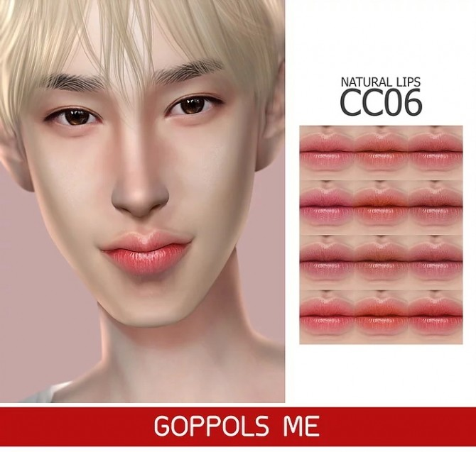 Sims 4 GPME Natural Lips CC6 at GOPPOLS Me