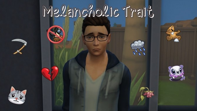 Melancholic Trait by GalaxyVic at Mod The Sims image 469 670x377 Sims 4 Updates