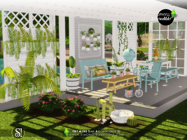 Chlorophyll Plants by SIMcredible at TSR image 4710 Sims 4 Updates