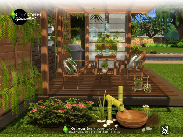 Chlorophyll Plants by SIMcredible at TSR image 4810 Sims 4 Updates