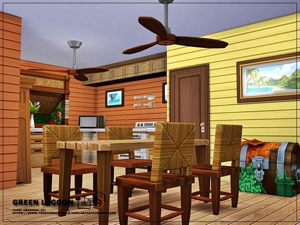Sims 4 Green Lagoon house by Danuta720 at TSR