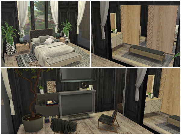 SUMMER BREEZE house by lotsbymanal at TSR image 550 Sims 4 Updates