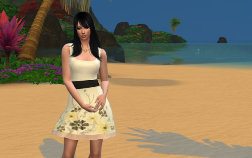 Sims 4 Dress at Louisa Creations4Sims