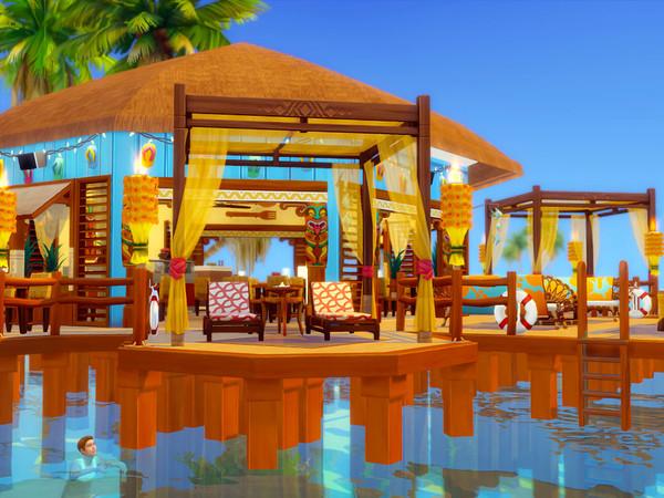 Sims 4 Sulani Restaurant by sharon337 at TSR