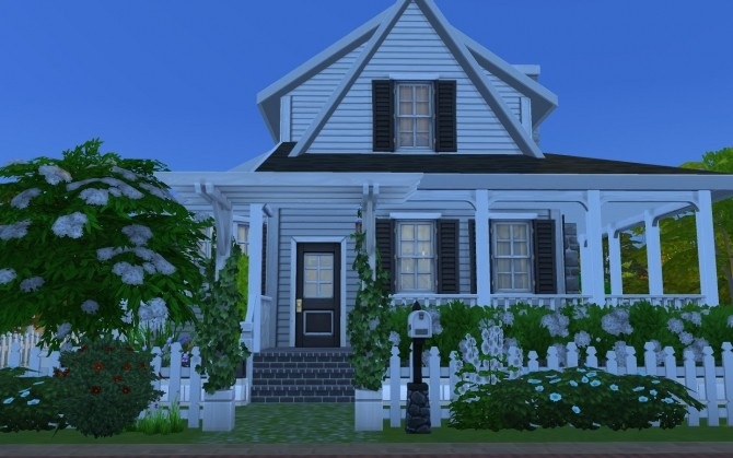 Simple Family Cottage by AmelieItsMe at Mod The Sims image 589 670x419 Sims 4 Updates