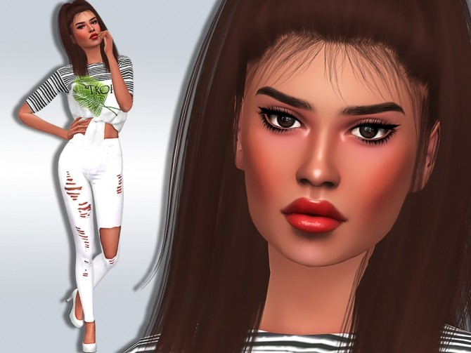 Sims 4 Aubree Stallings at MSQ Sims