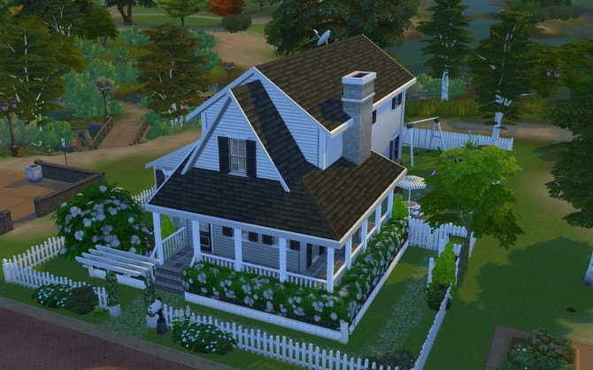 Simple Family Cottage by AmelieItsMe at Mod The Sims image 6010 670x419 Sims 4 Updates