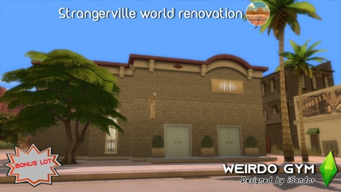 Strangerville renew #13 Weirdo gym by iSandor at Mod The Sims image 603 670x377 Sims 4 Updates