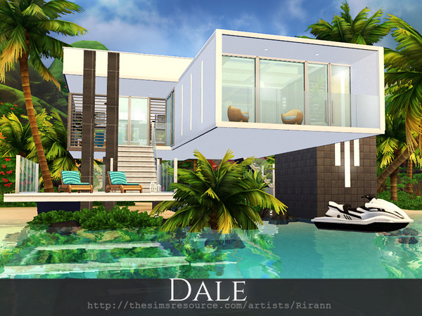 Dale contemporary house by Rirann at TSR image 6101 Sims 4 Updates