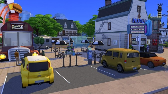 Sims 4 The Roadstead Plaza CC Free by kiimy 2 Sweet at Mod The Sims