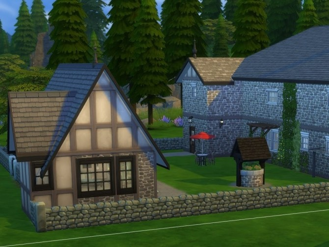 Sims 4 The Vicarage at KyriaT's Sims 4 World