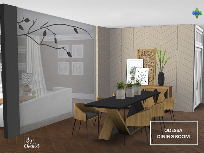 Odessa Dining Room at Simthing New image 747 670x503 Sims 4 Updates