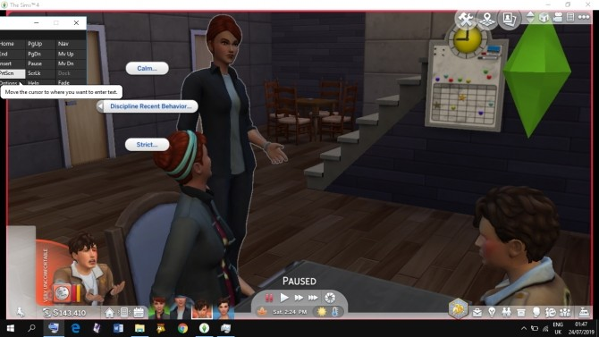 Sims 4 Parent Discipline Actions For All by tecnic at Mod The Sims