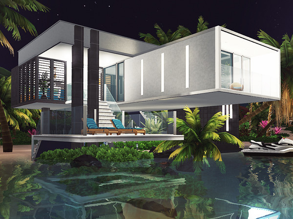 Dale contemporary house by Rirann at TSR image 8102 Sims 4 Updates
