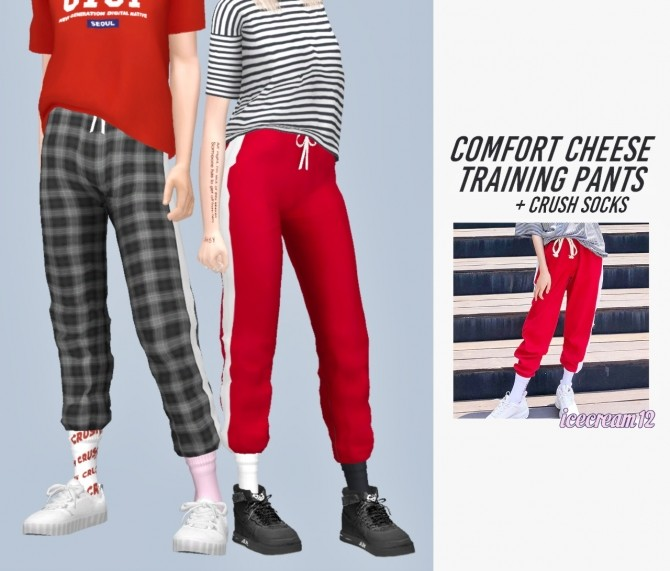 Comfort cheese training pants + crush socks at Casteru image 811 670x571 Sims 4 Updates