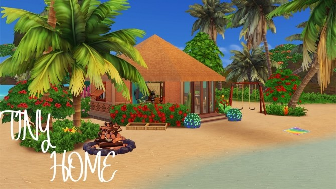 TINY HOME (island living) at Celinaccsims image 8110 670x377 Sims 4 Updates