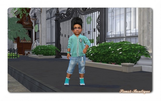 Sims 4 Designer Set for Toddler Boys TS4 at Sims4 Boutique