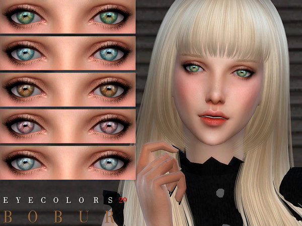 Sims 4 Eyecolors 29 by Bobur3 at TSR