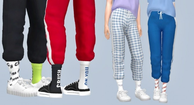 Comfort cheese training pants + crush socks at Casteru image 821 670x366 Sims 4 Updates