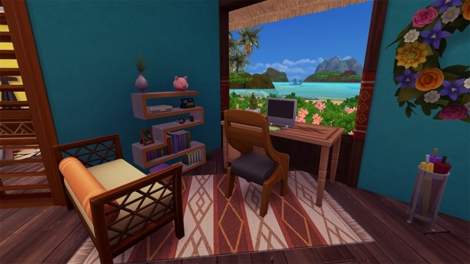 TINY HOME (island living) at Celinaccsims image 825 670x377 Sims 4 Updates